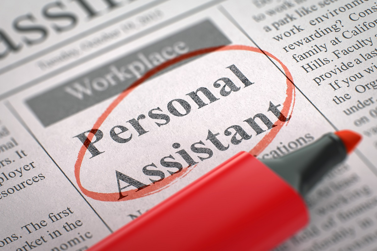 Personal Assistant - Small Ads of Job Search in Newspaper